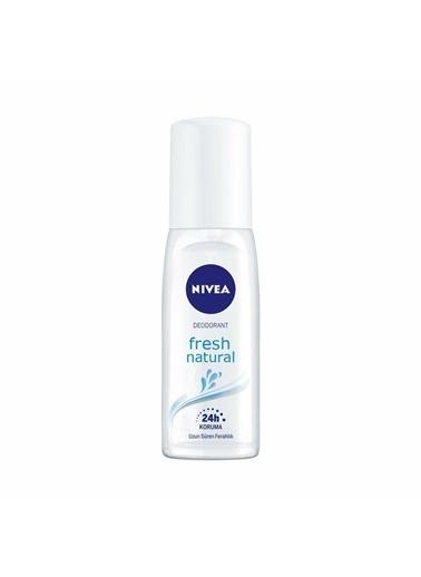 Nivea Nivea Fresh Natural Kadın Deodorant Sprey 75 ml Renksiz